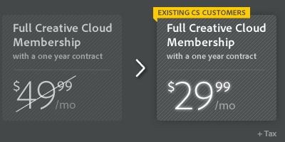 Creative cloud discount